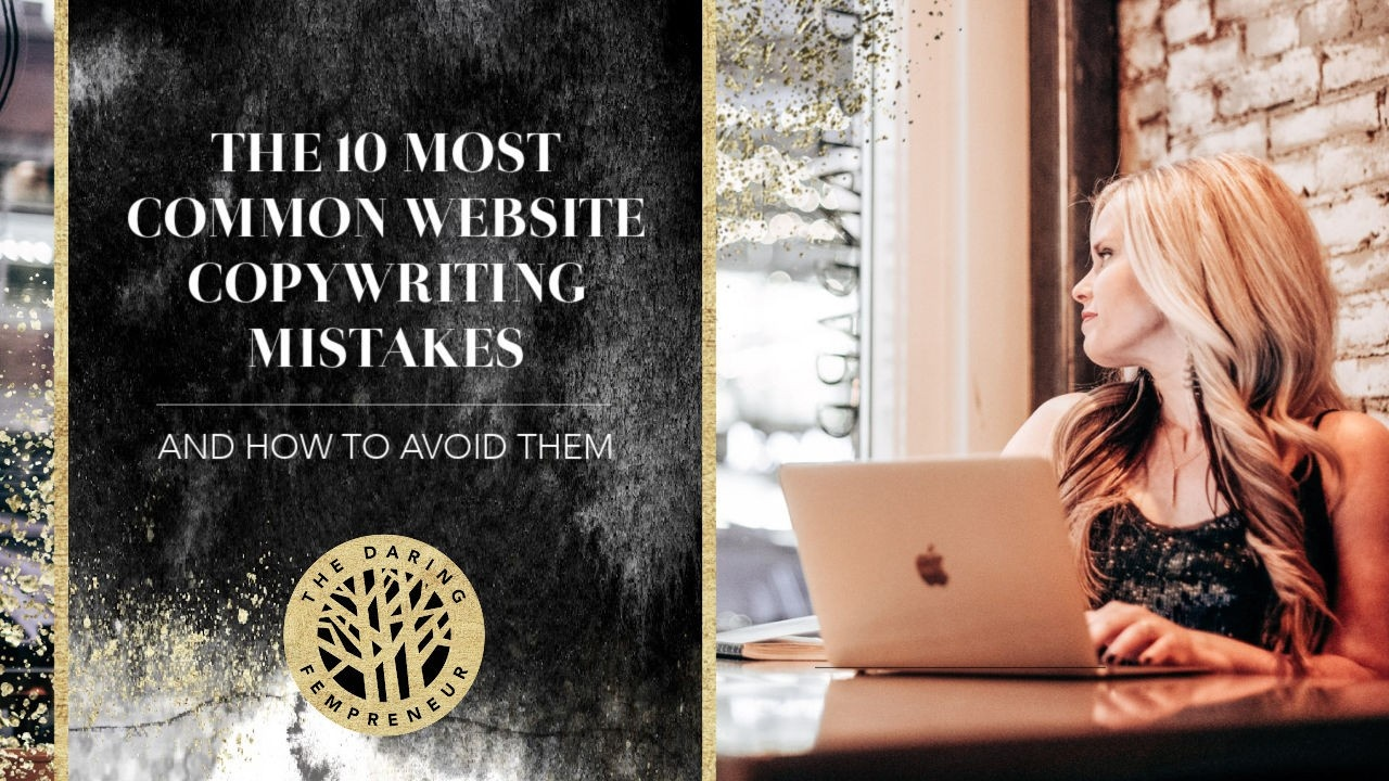 Most Common Website Copywriting Mistakes & How to Avoid Them