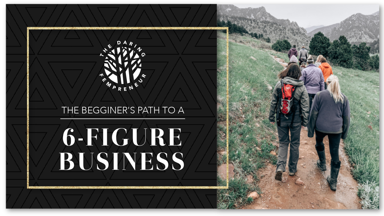How to build a six figure business