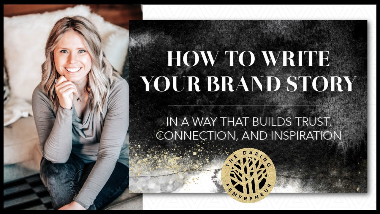 How to Write Your Brand Story