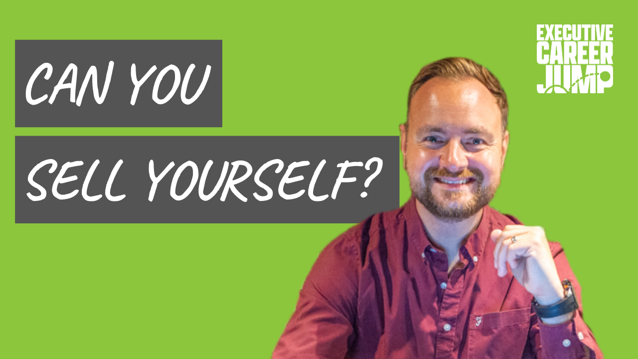 are you good at selling yourself?