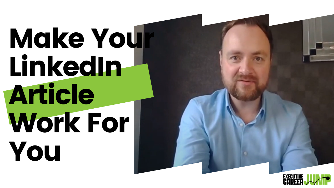 Make Your LinkedIn Article Work For You blog