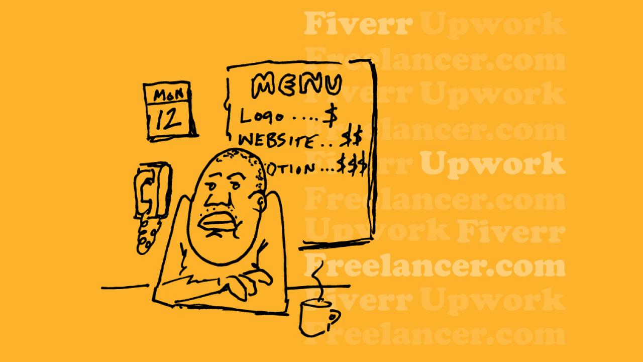 Fiverr Upwork Freelancer.com