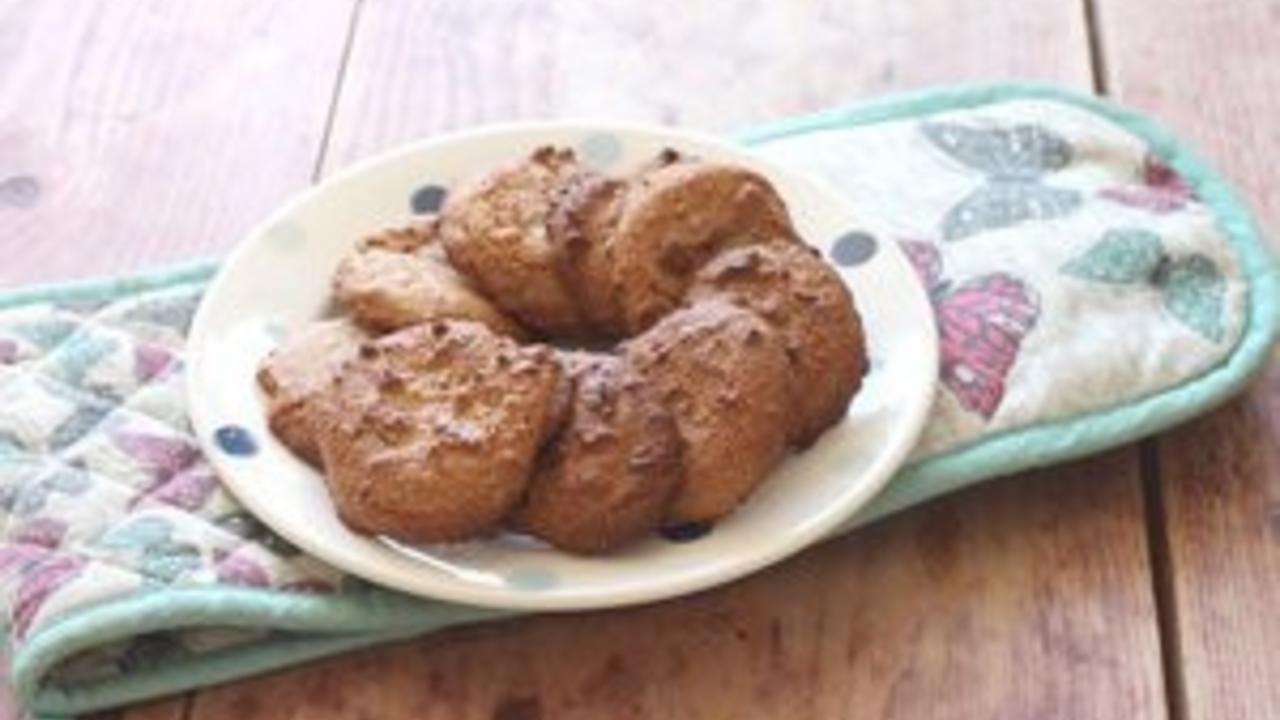 Самый простой рецепт миндального печенья