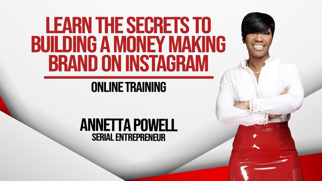Qjhvqeagsfk2xtrwcgrv learn the secrets to building a money making brand on instagram