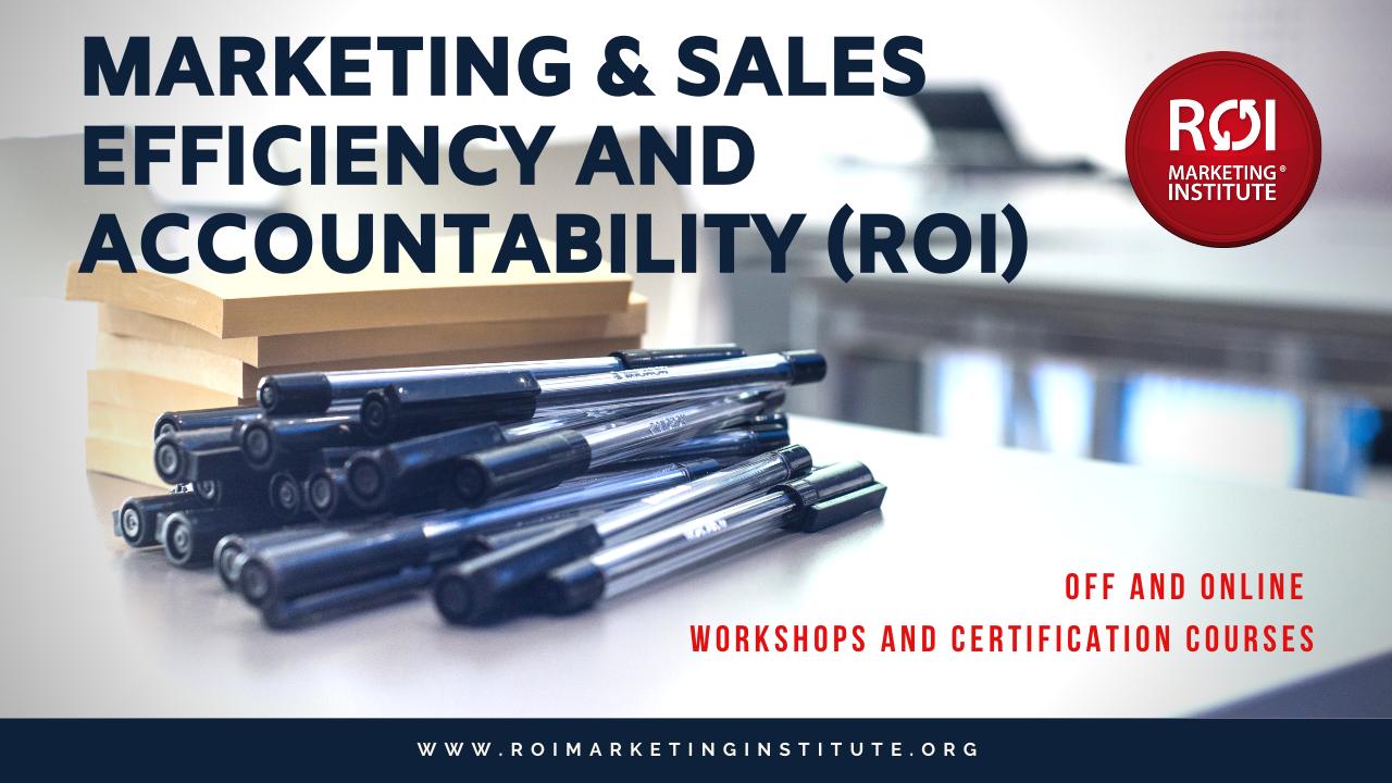 M84kf6ucrby69duofram efficiency accountabillity workshops roi marketing institute cover