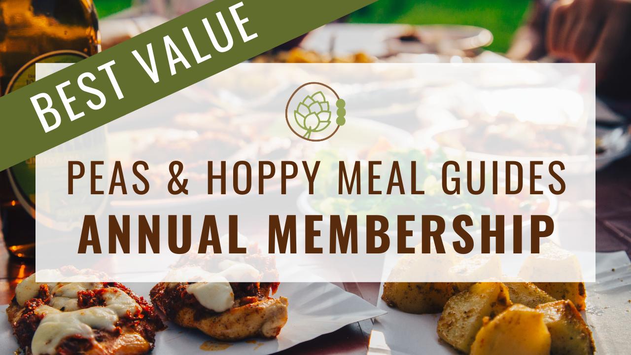 Lymdubupq0oacnqxhifx  peas hoppy meal guides annual membership