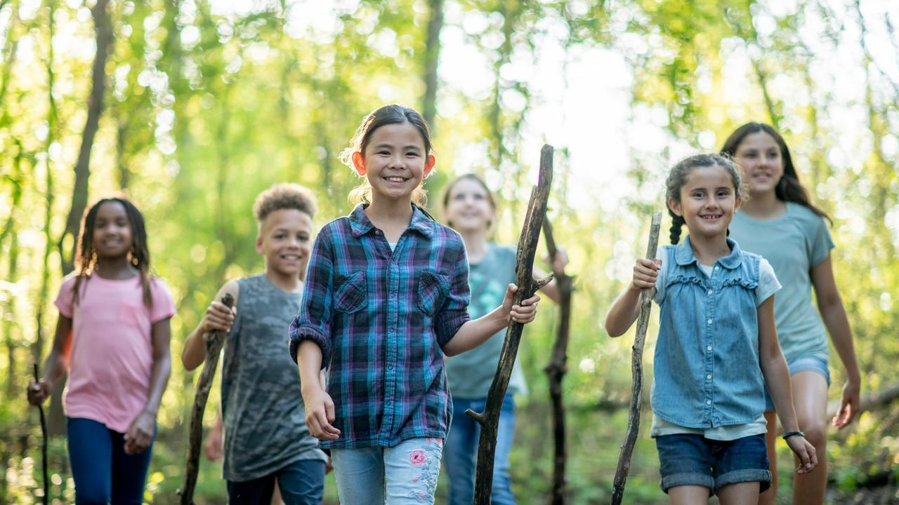 Wemrcs6zsdea5njops2t forest mom 10yr kids in woods
