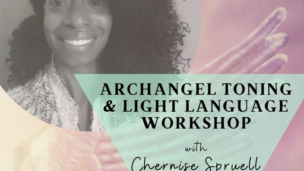Sqsgtbetqtoppqqbxwyr archangel toning light language workshop instagram cube color
