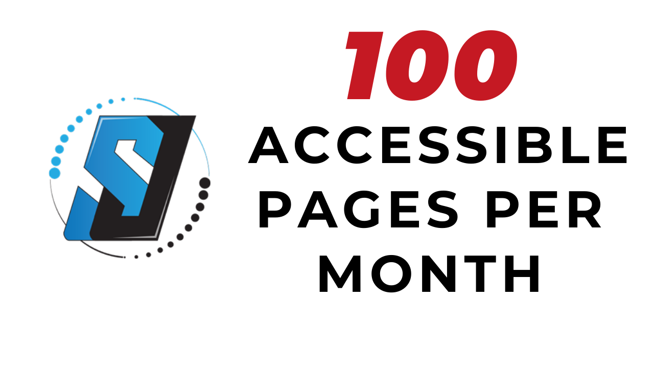 Monthly accessibility subscription