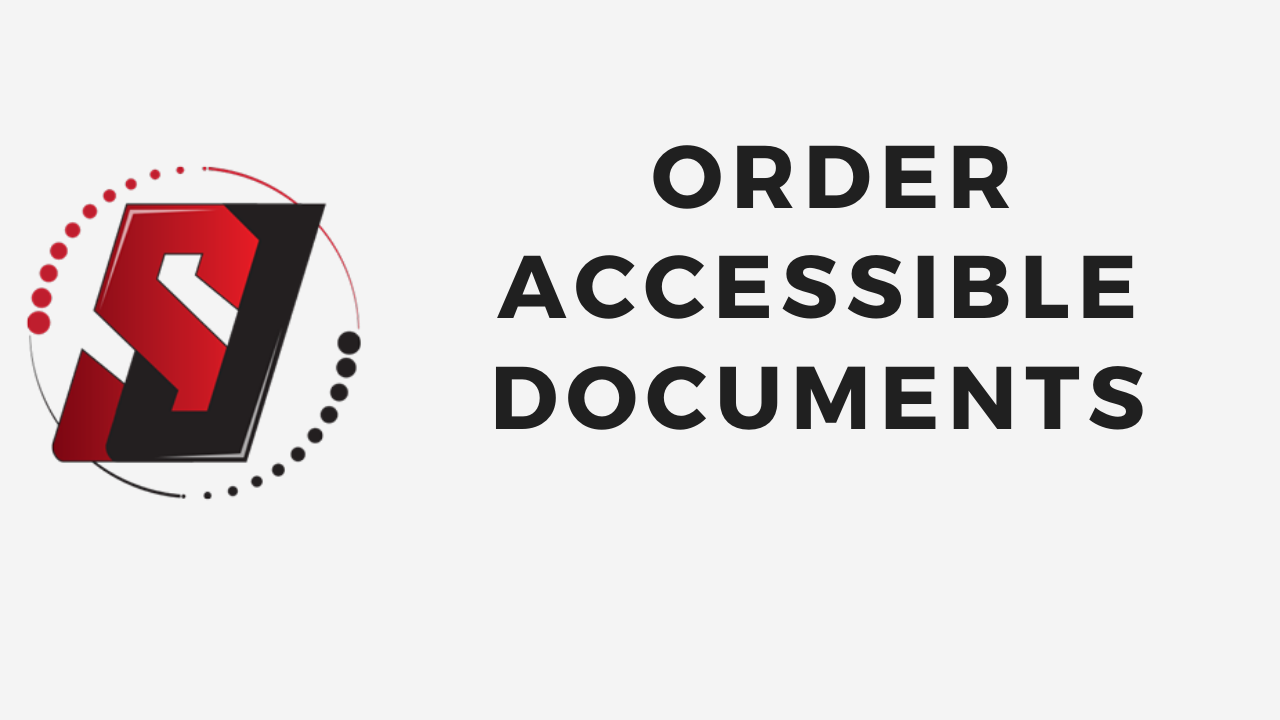 Order Accessible Documents