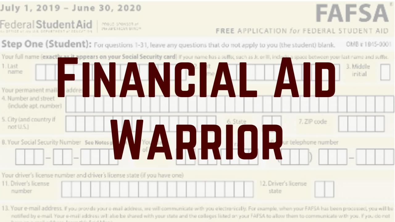 Wco4dm1qfsvhrlfynjko financial aid warrior