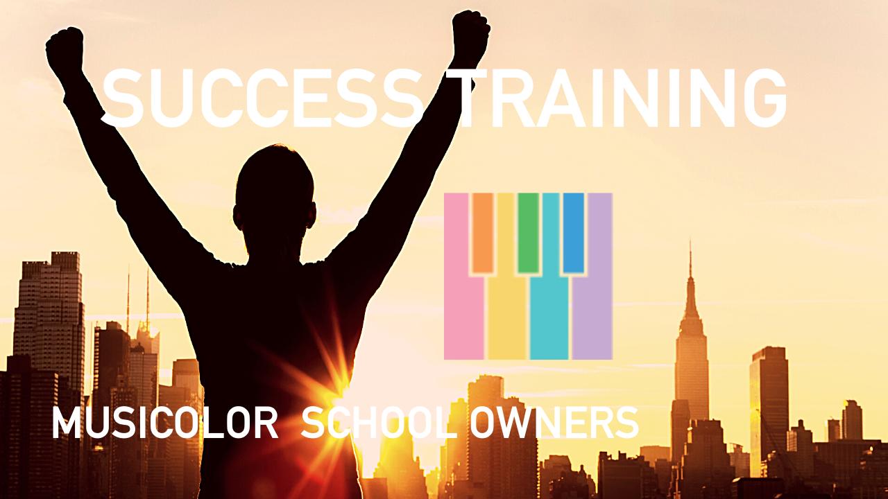 Y8f38jnlsomv1hw8l1aj success training for musicolor owners