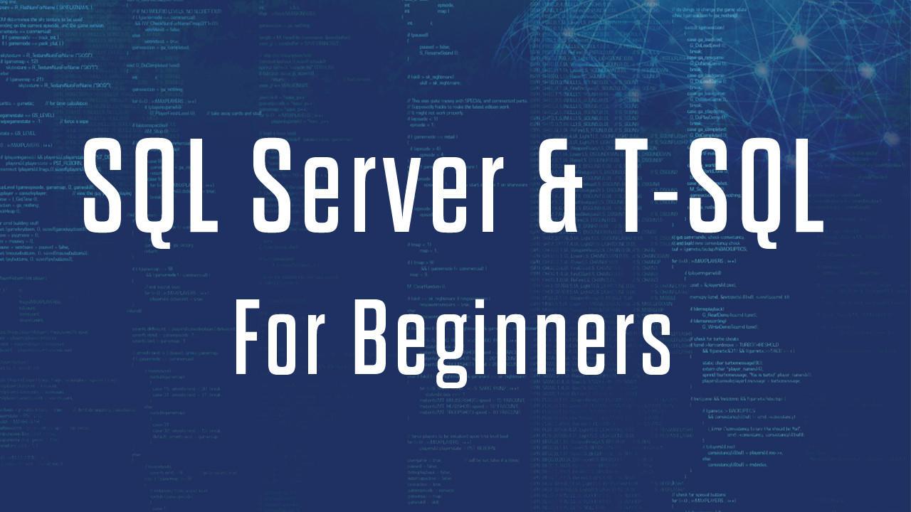 Tdgf5k8vs1mukvksk0de sql server t sql for beginners