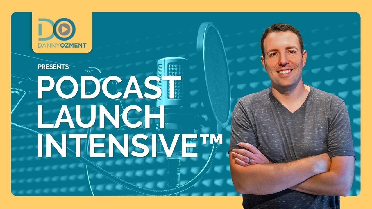 Qjer9foesjmwcd352i4f podcast launch intensive