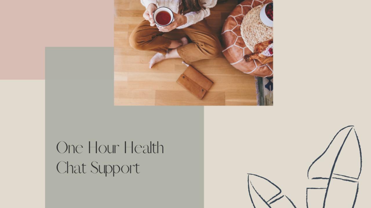Ayci4ldtlmllwdtadeef one hour health chat support with holistic health coach