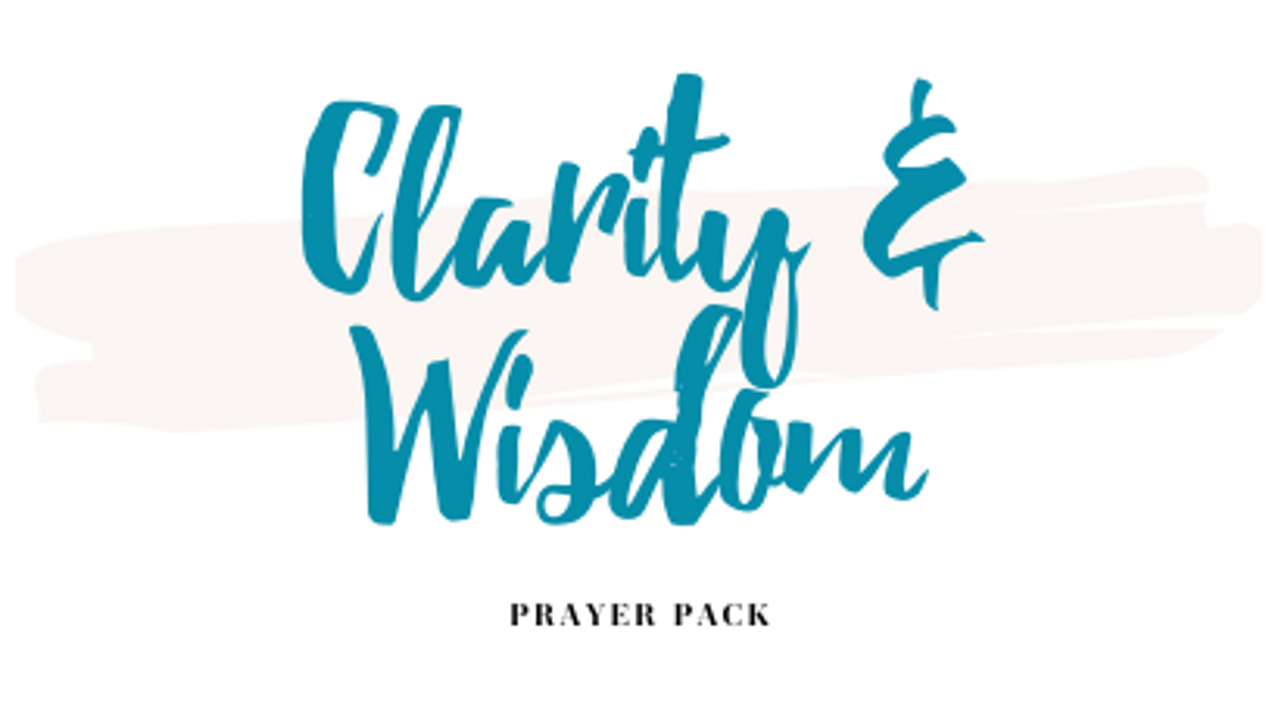 Kvrobckpru111kpwguew clarity wisdom