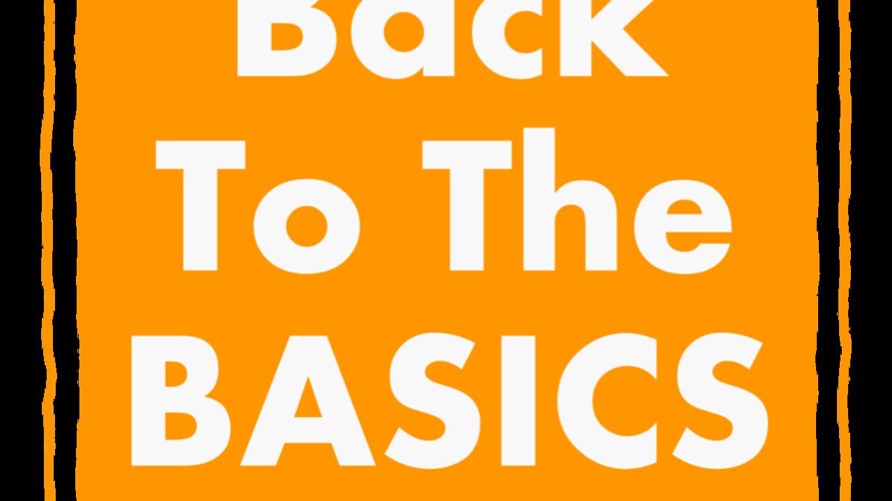 Sc6a6bjriiwskphwyfaw back to the basics logo