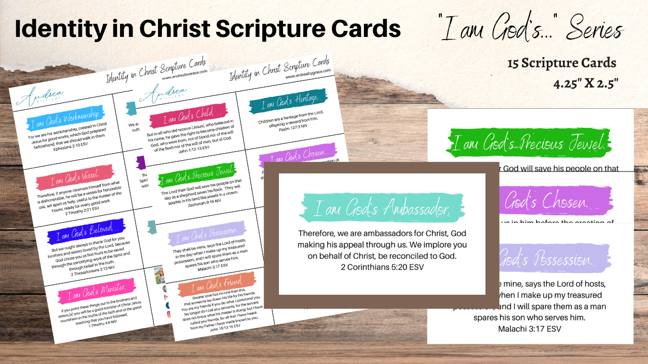 Yt48ujcetghrdk5g9izi identity in christ scripture cards website product card