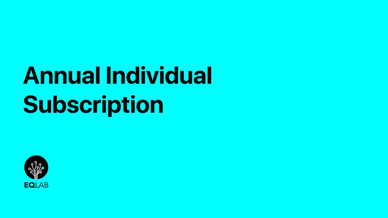 O0htcdkr0u1drqpio9m4 annual individual subscription