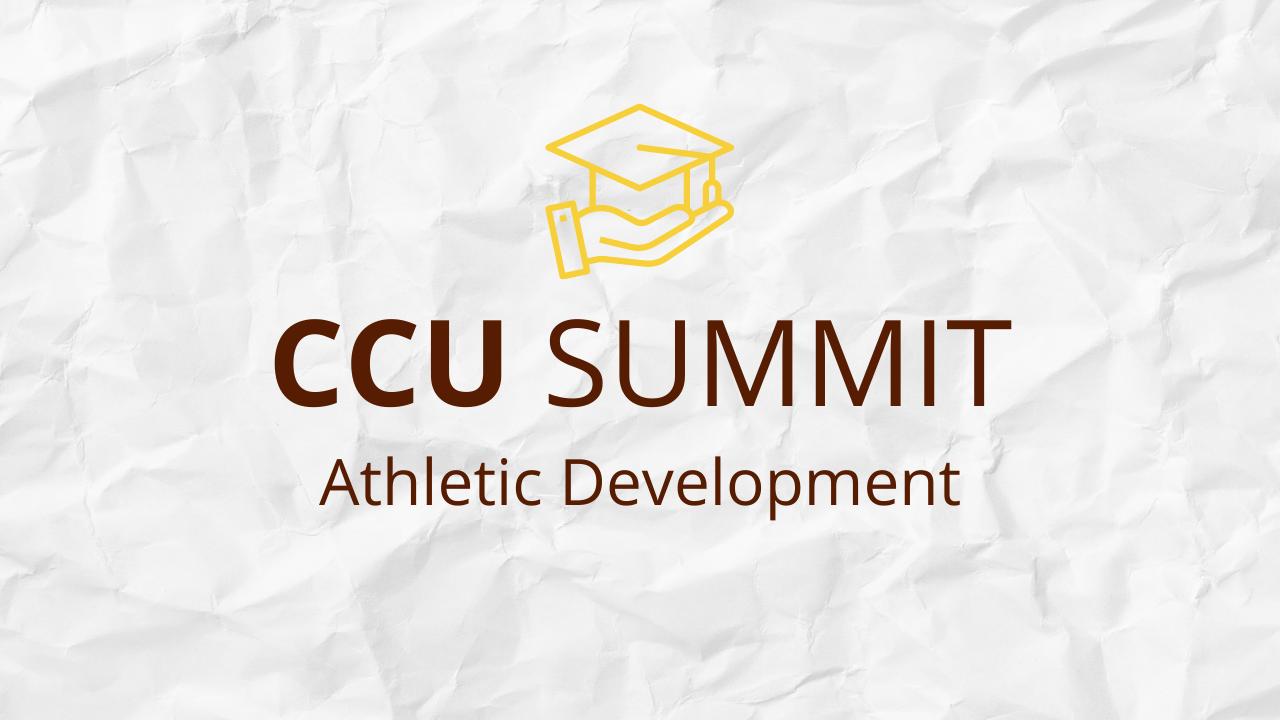 Klb0tqa5r5ygsr4jrgpa ccu summit 2021 athletic development
