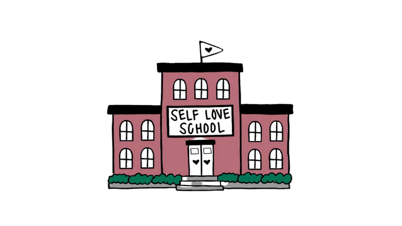 Vj2y4adreij2uiwk3asw self love school logo copy