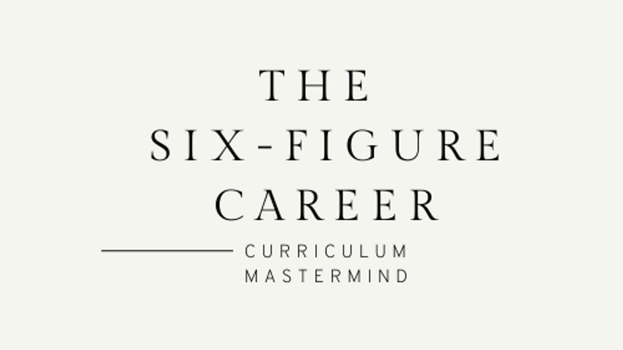 Ixmxuzn9qc6hlitnh8ae six figure career curriculum logo