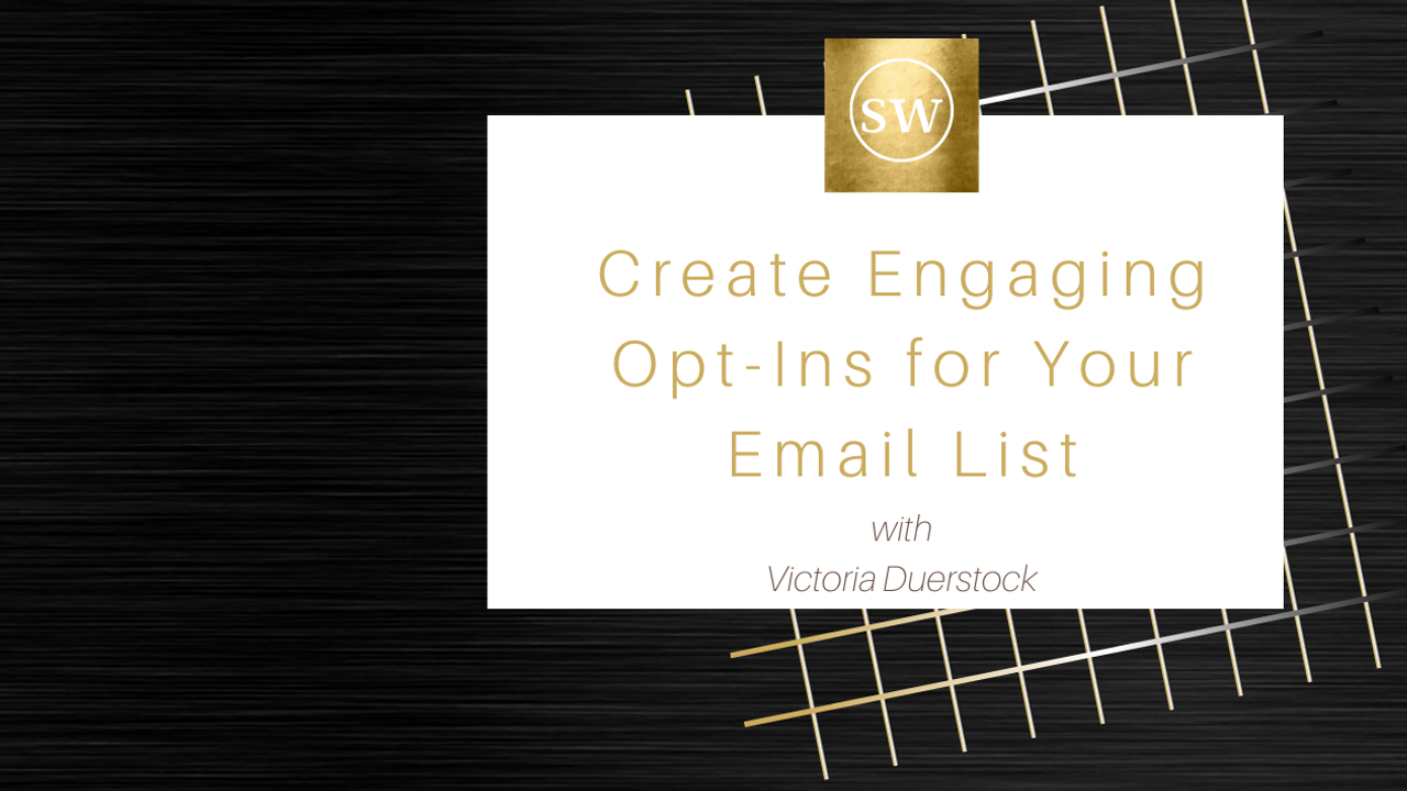 Xmzospjxsuslhrzhbsdg create engaging opt ins for your email list