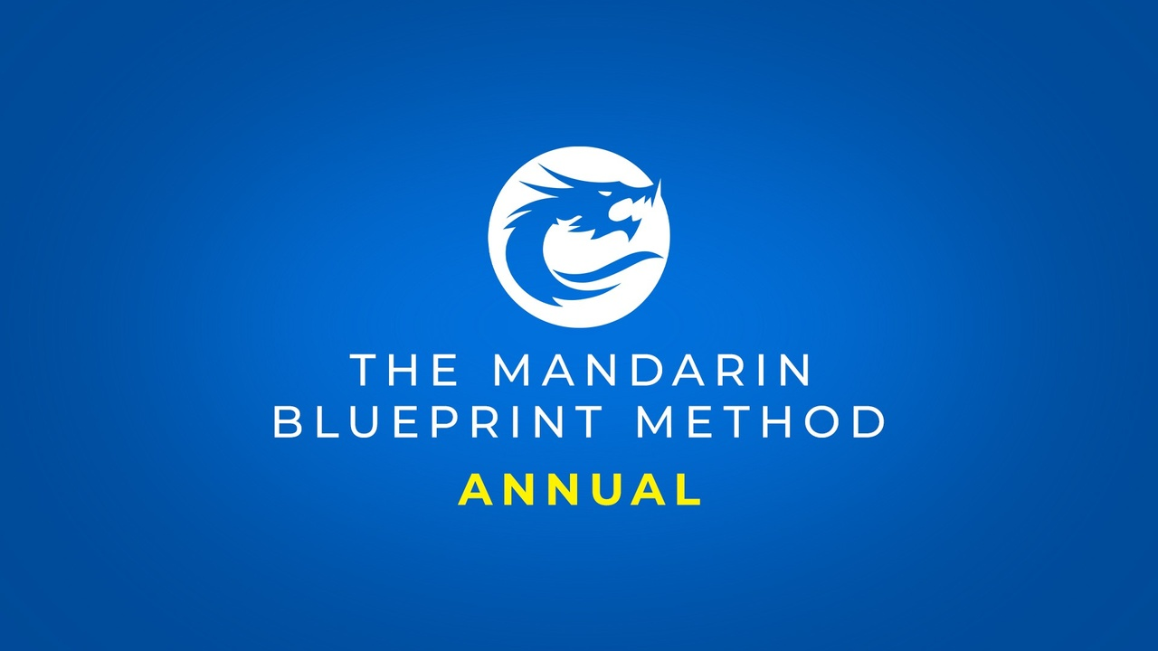 Kkk0yefcthmebbmopcea the mandarin blueprint method annual