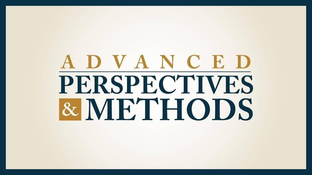 E5eaxbrgqxermy0rwwlb advanced perspectives and methods