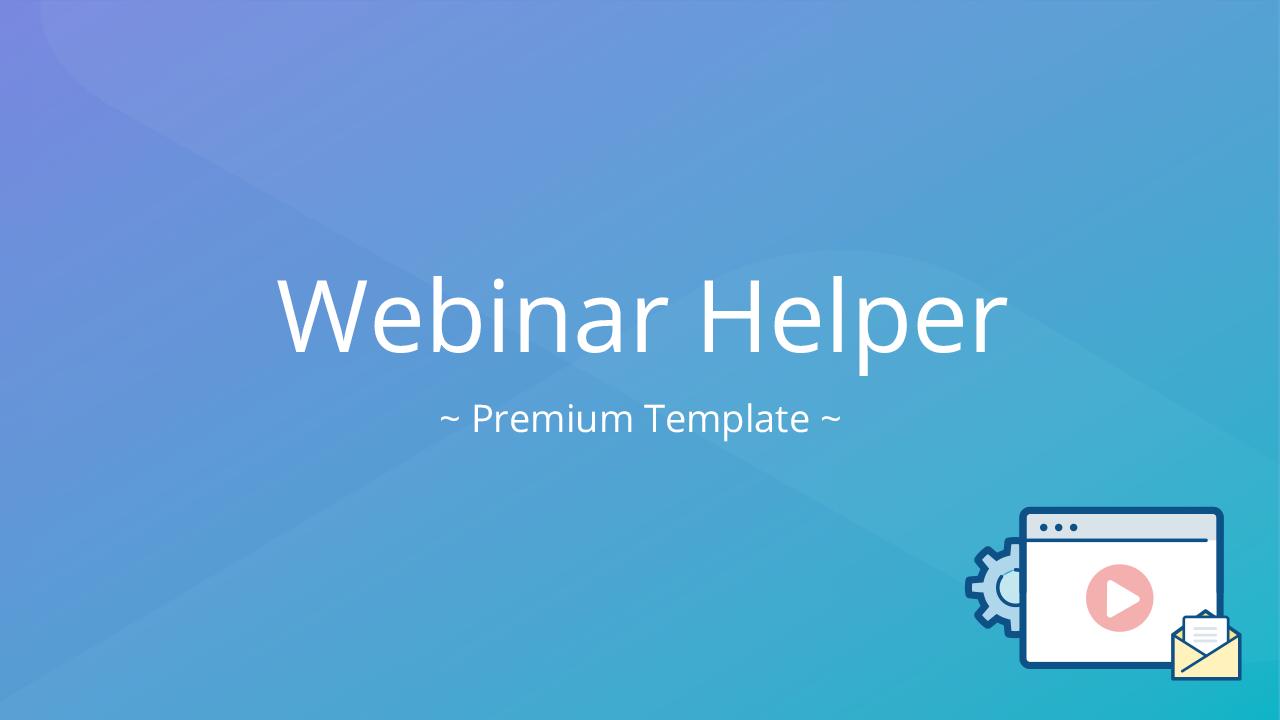 Luitxaltcevae2vwapca template webinar registration reminder premium