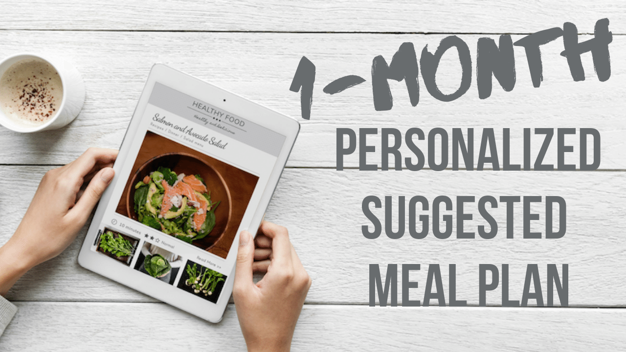 Uukt6datremrstdkqpbz 1 month personalized suggested meal plan