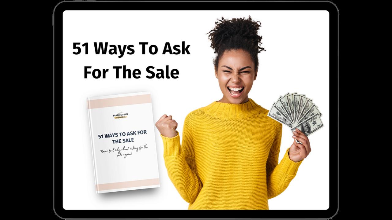 U8sffolxruzmetks2jdt 51 ways to ask for the sale 3