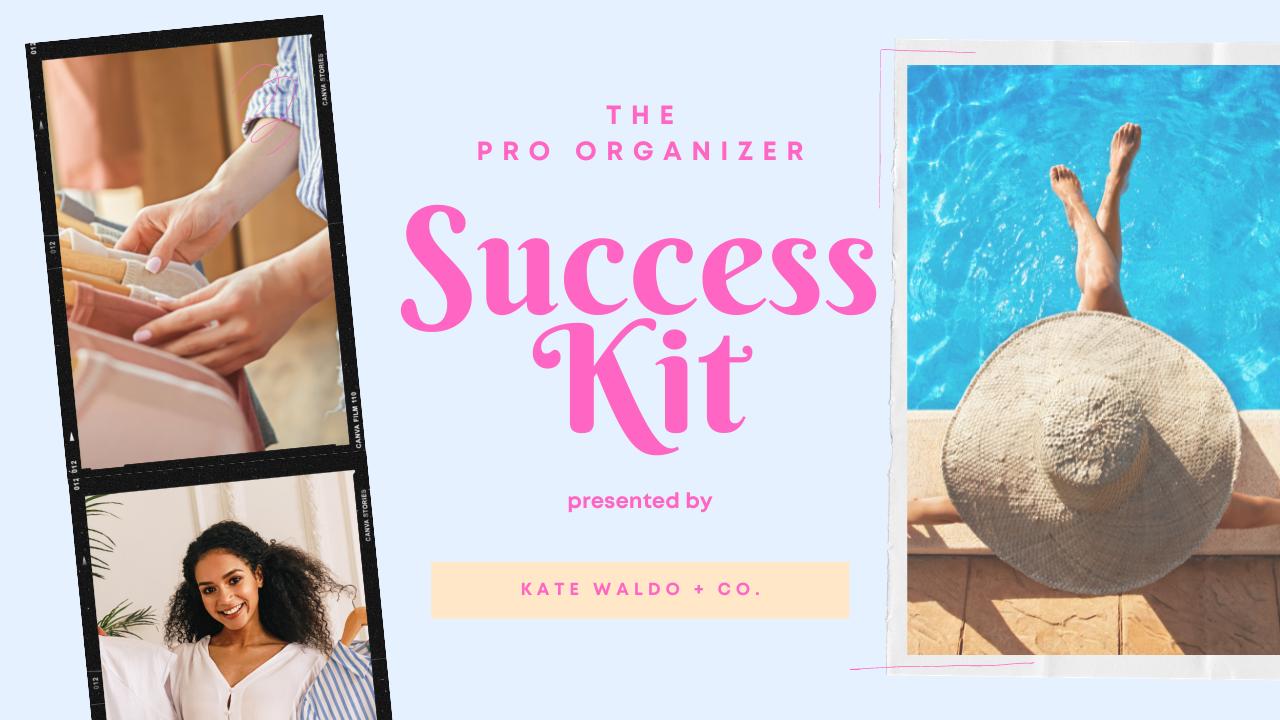 0kc36edxt9iqtokaoukn pro organizer success kit cover image
