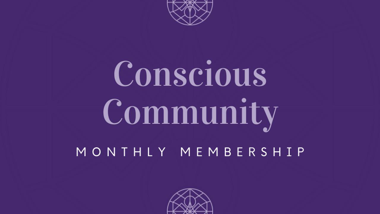 Qryblrzmqqglydvmrvcn conscious community monthly
