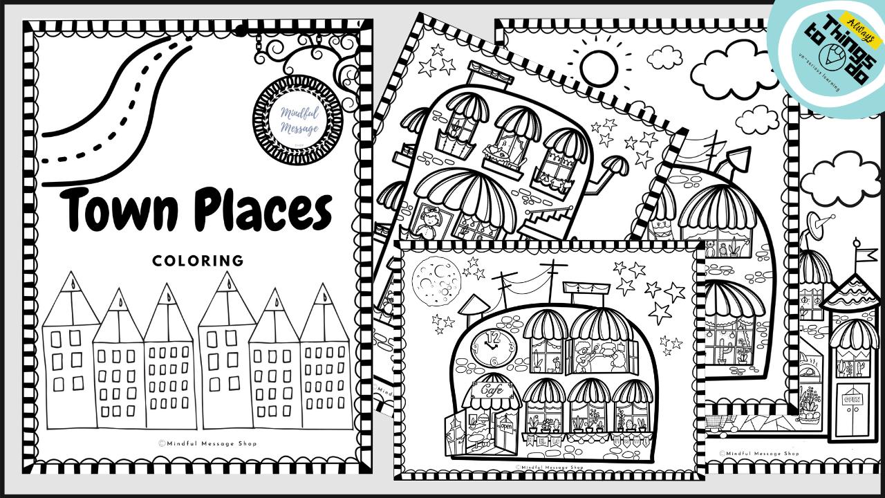 Qhrfmisgrmqoirb9hceh town buildings coloring pages