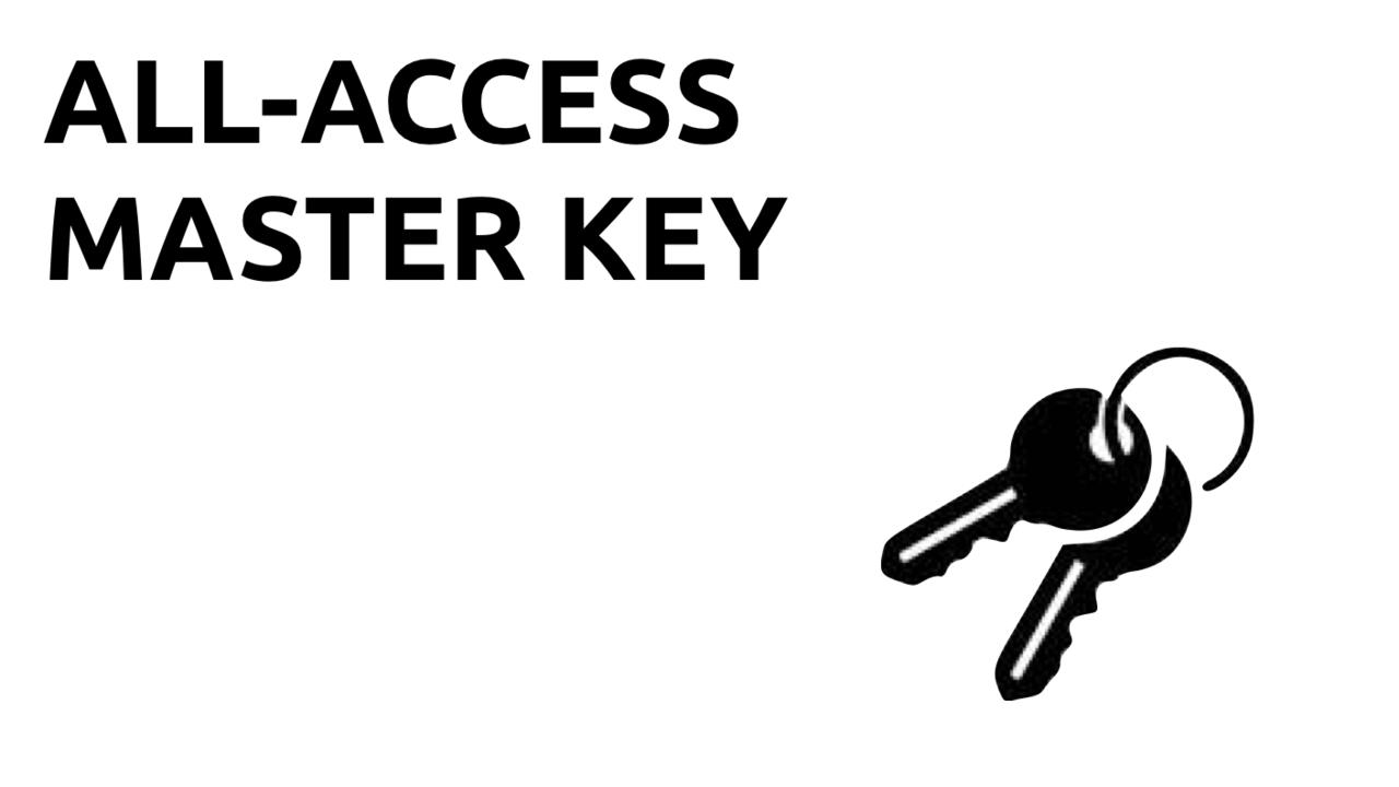 Jgjayvmateo5h1e36x1f all access icon