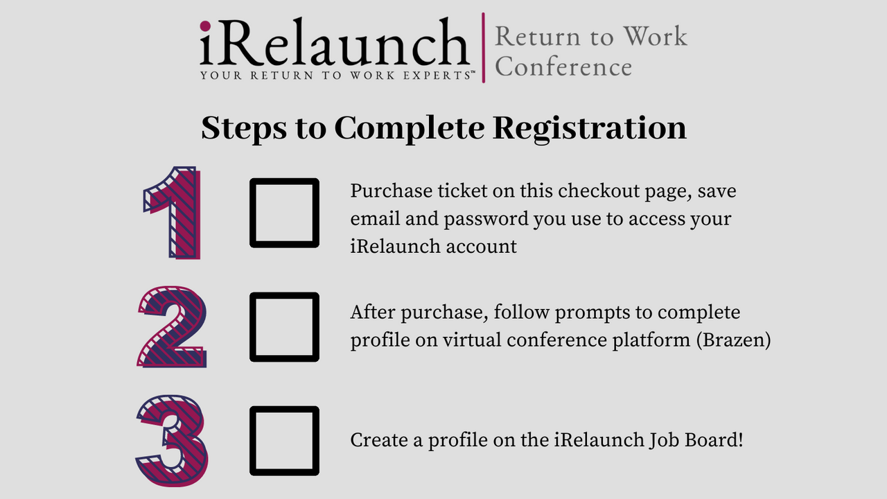 Yifecarwqtmxb2bjtzby conference registration steps without links none done