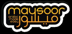 Ll4dfuowqwug4pneoyi2 maysoor arabic logo