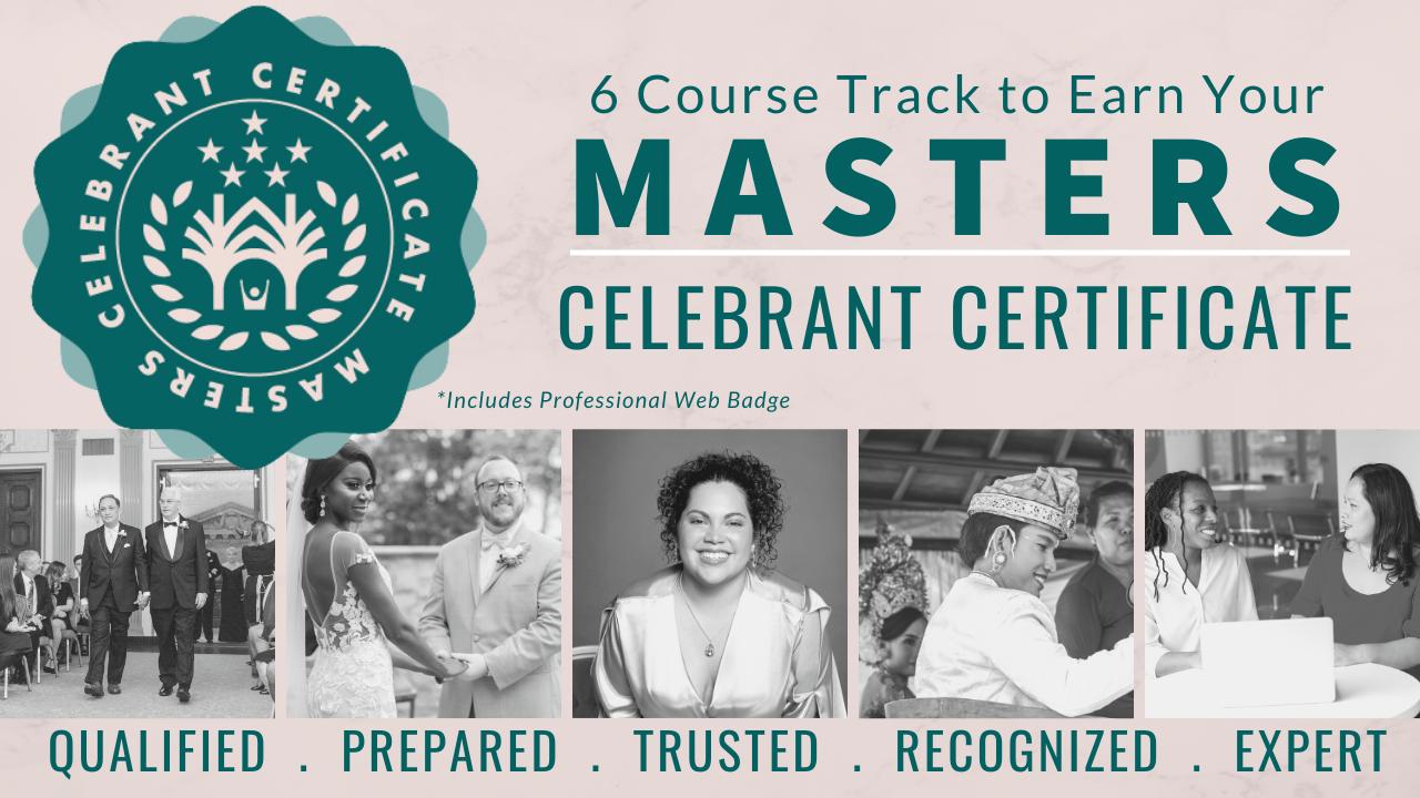Yabxsbvvt6wexpkiided celebrant academy masters cert
