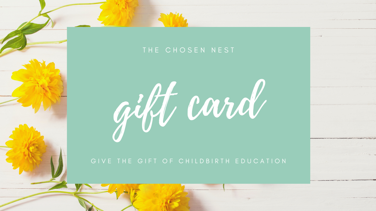 Owbevzotoon4q8pqtulw the chosen nest childbirth education gift certificate