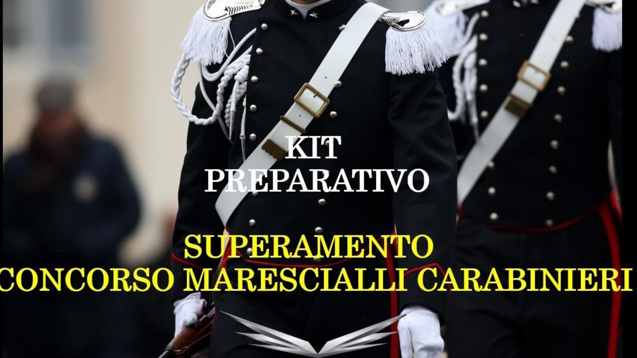 Ksdzmylrrqkzska3hcdy libro concorso marescialli carabinieri