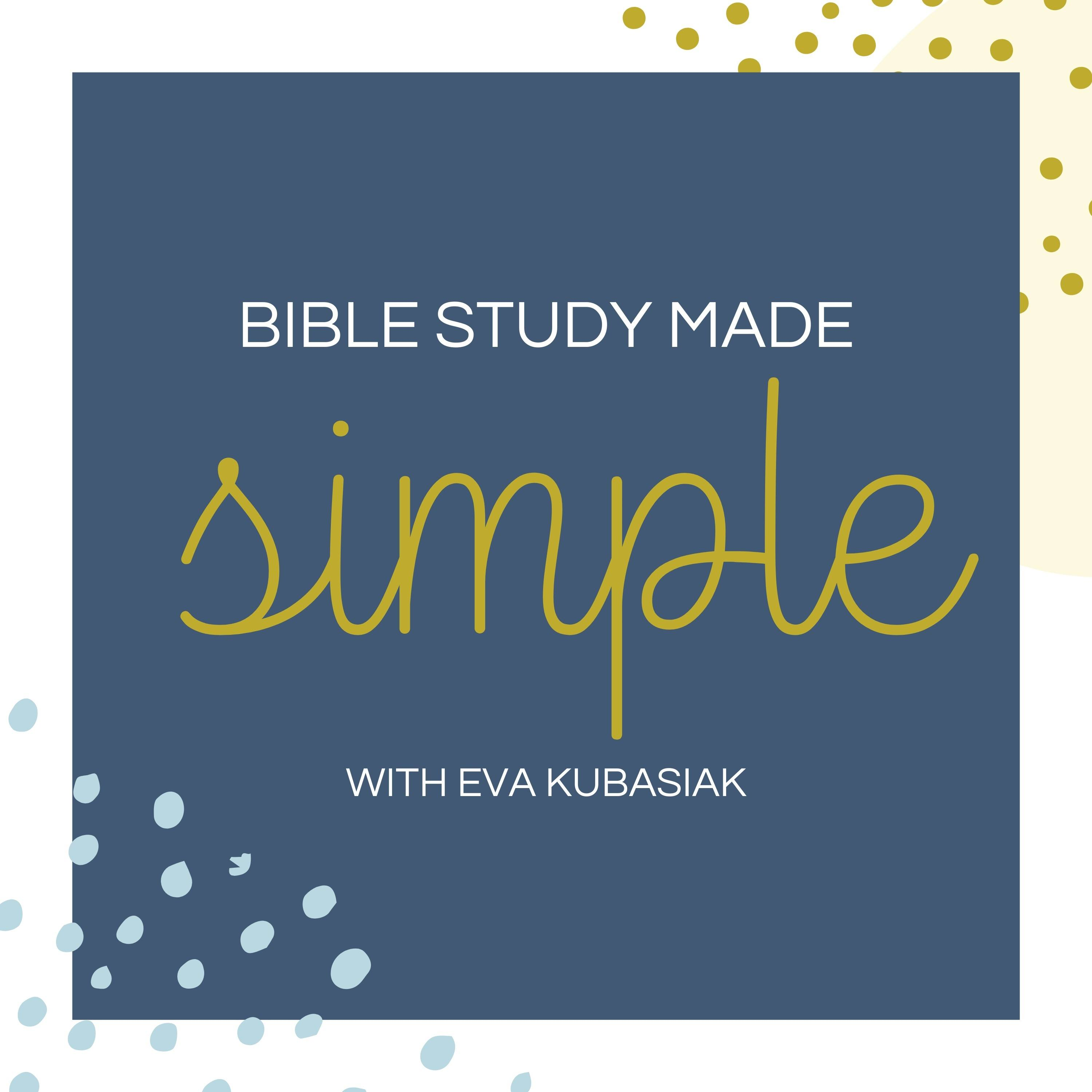 Bible Study Made Simple