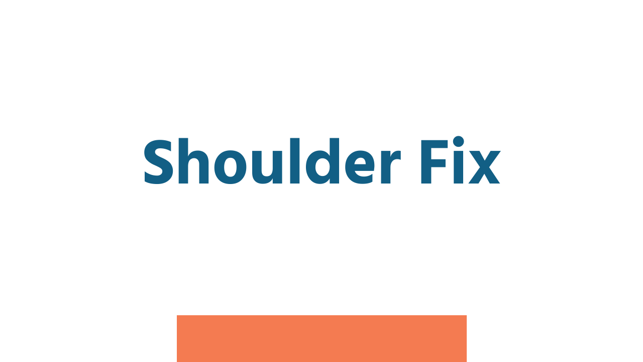 Rbapbe4nrv2jfrdstfth shoulder fix poster image