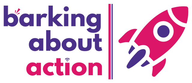 Barking About Action Logo