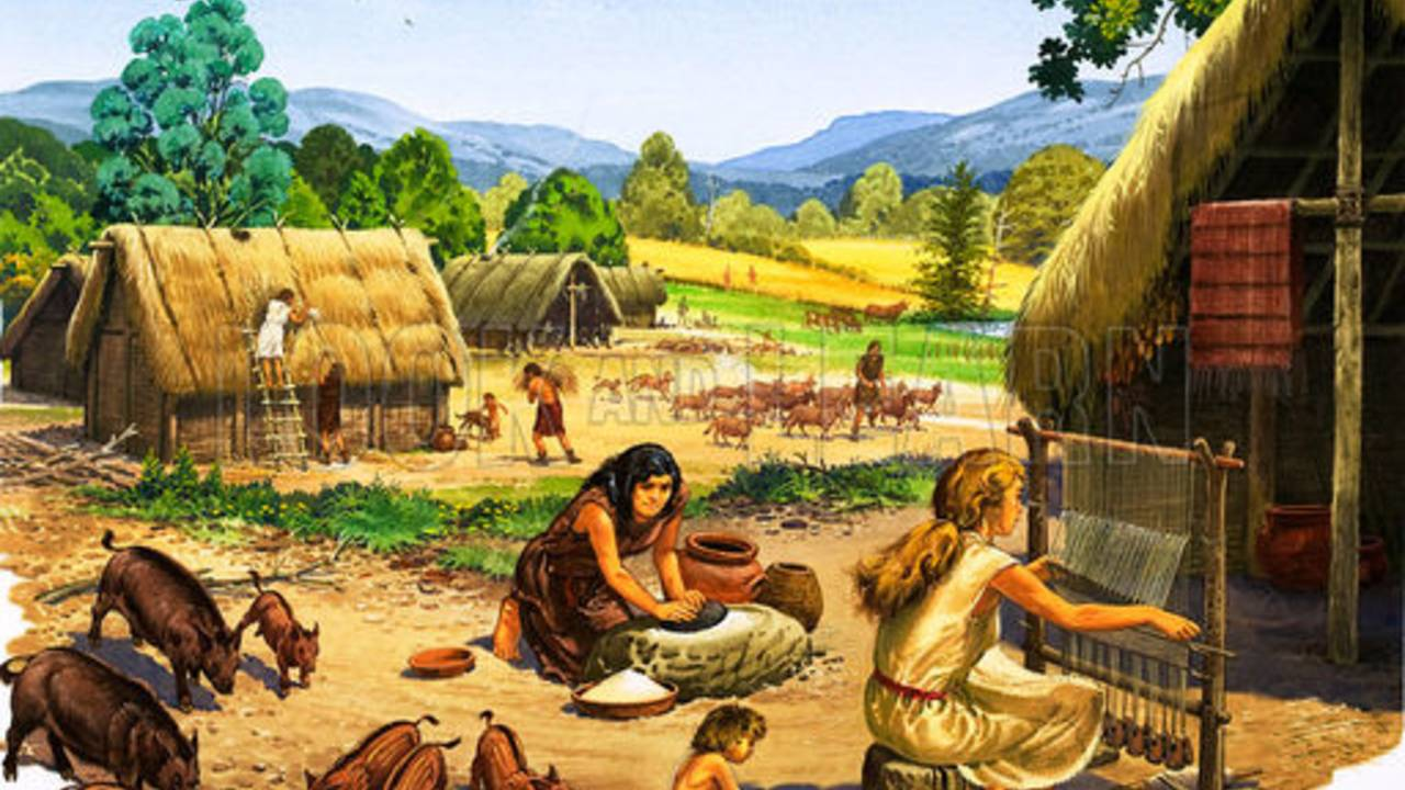 Comparing the Paleolithic and Neolithic Eras