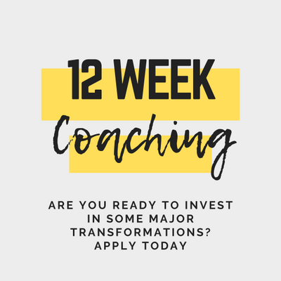 Apply for 1:1 Coaching