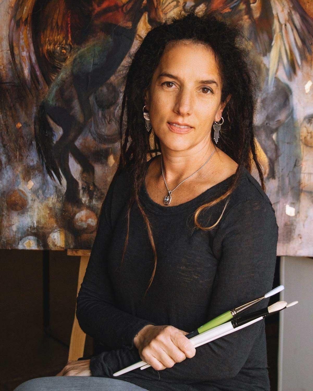 brush stroke lesson by Elli Milan