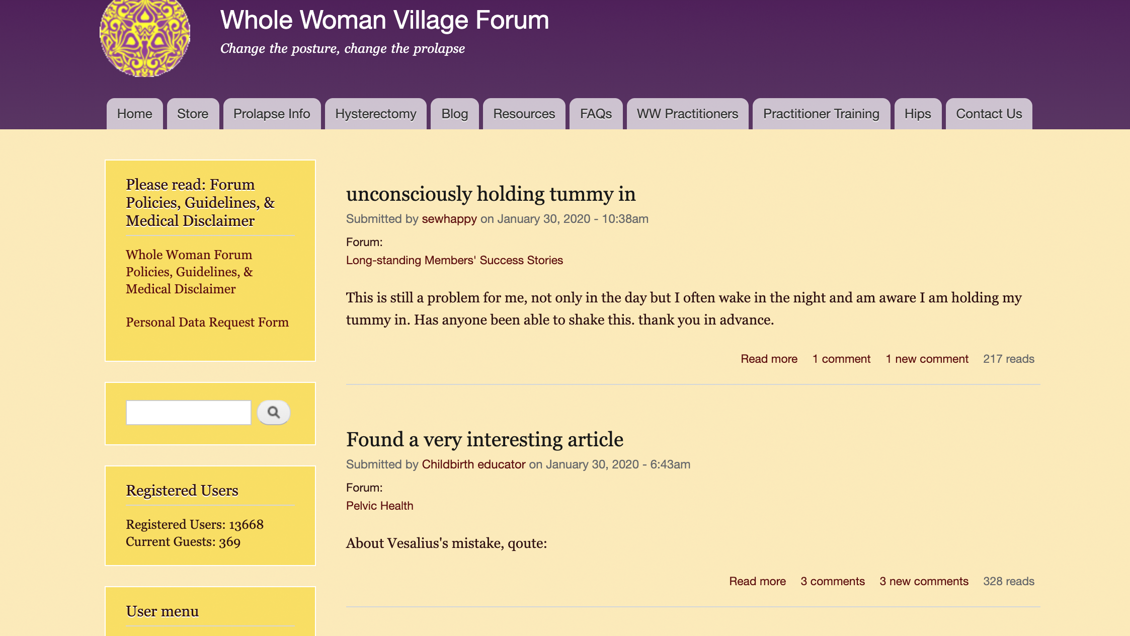 Whole Woman Forum