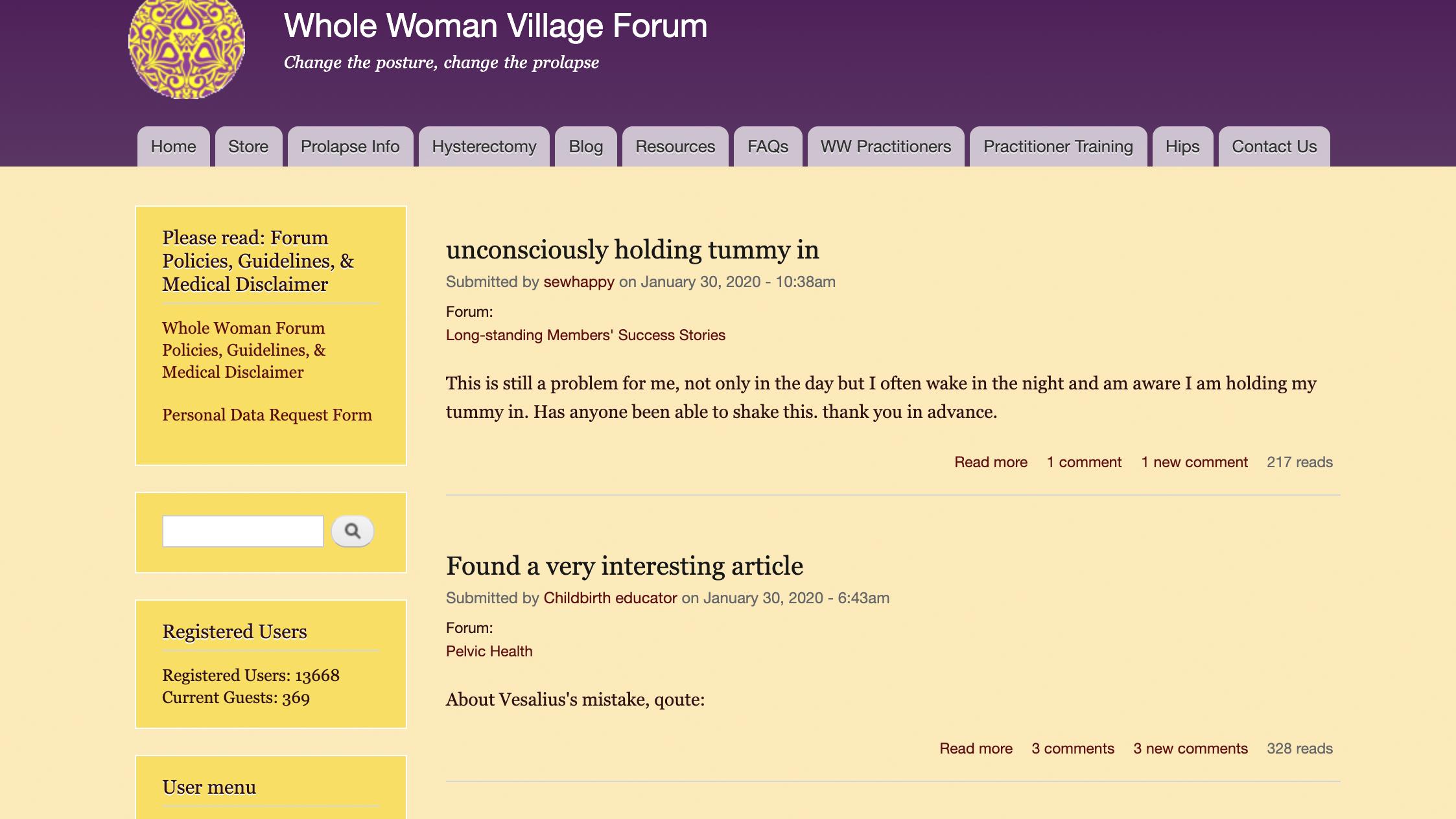 Whole Woman Forum