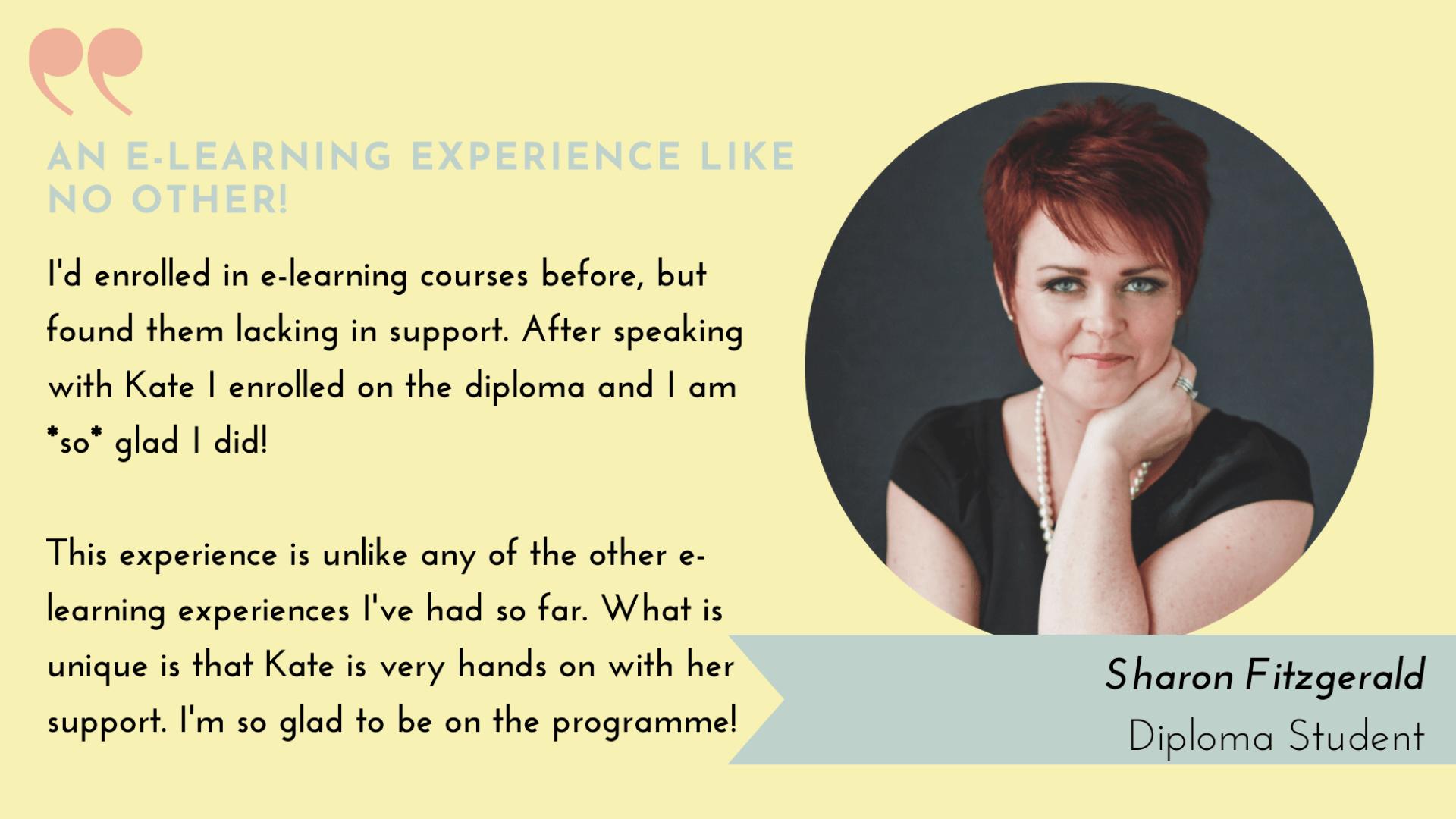 Diploma Student Sharon F
